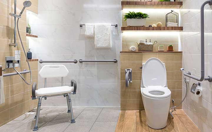 Bathroom Grab Bars For Seniors Shower, How To Fit Bathroom Grab Rails