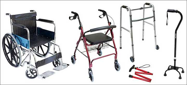 Mobility Aids and Equipment for Seniors   Eldercare